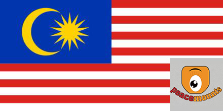 Malaysia Example of Peacemounts