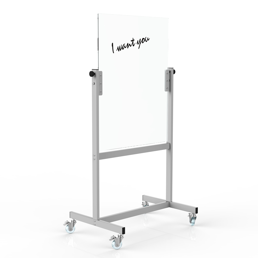 GB-03 China supplier freestanding magnetic mobile glass board