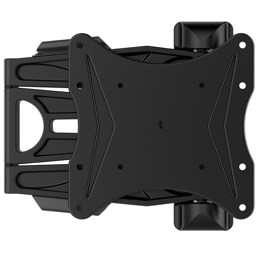 PMS-200 Ultra Slim Aluminum 23'-40' Flat Screen tv Wall Mount with Tilt and Swivel