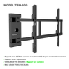 Rotate 180 degrees swing out Articulating TV Wall Mount