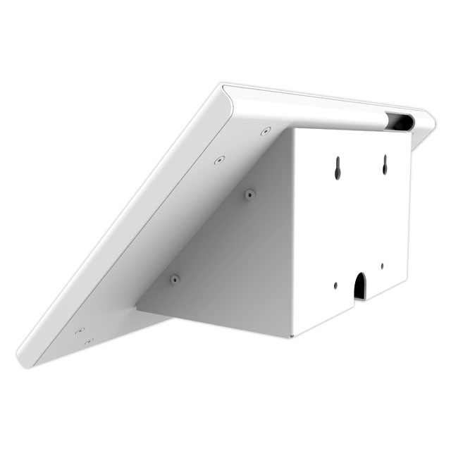 Customizable storage space Wall-mounted anti-theft tablet enclosure and stand