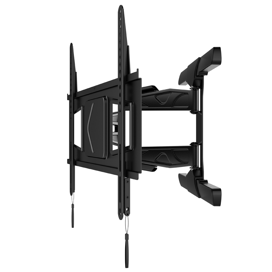 PMS600-L Aluminum Ultra slim Swivels 360 Degrees VESA 400 and 600 full motion TV Wall Mounts
