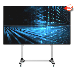 ML-02 Universal Video Wall Tv Stand for 2X2 Video Walls
