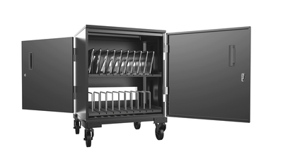 20 sets movable tablet charging cart