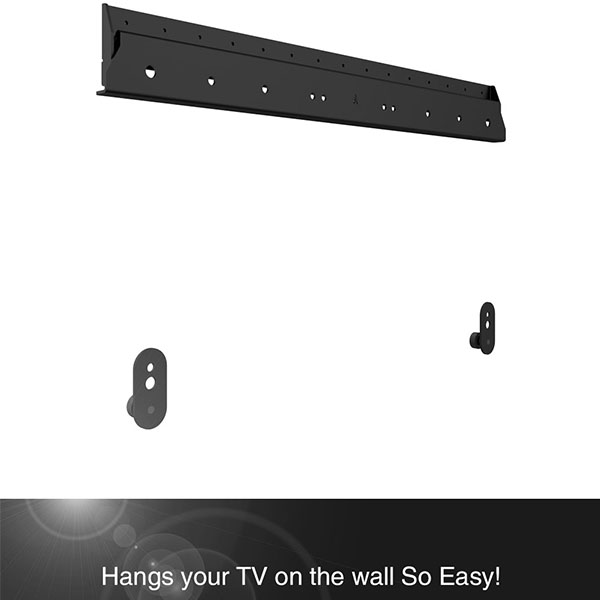 Can you mount a TV without drilling?