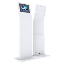 Advertising Touch Screen Tablet Kiosk Stand